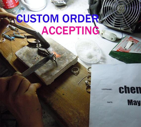 CUSTOM ORDER ACCEPTING