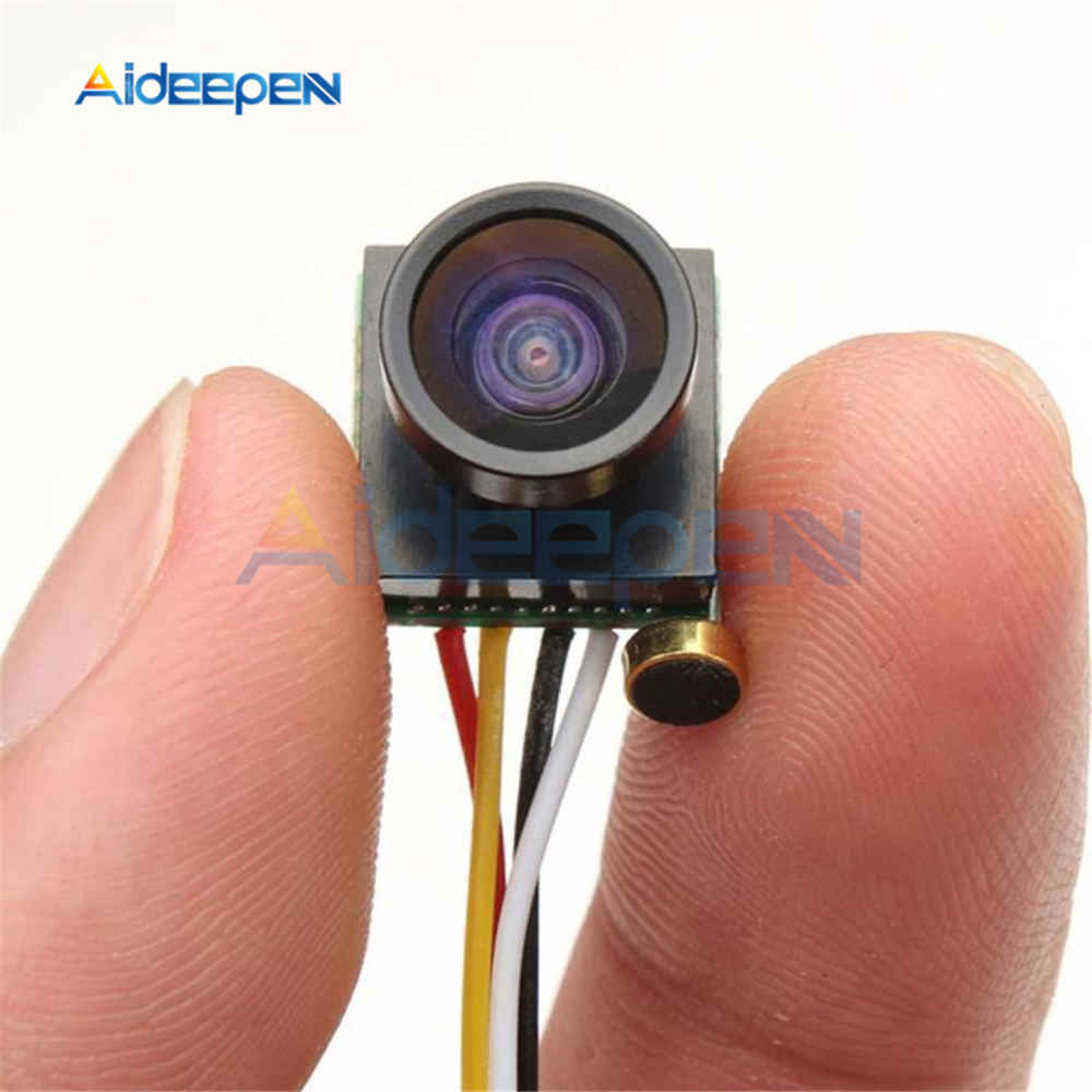 600TVL 1/4 CMOS 1.8mm FPV170 Degree Wide Angle Lens Camera PAL NTSC 3.7-5V FPV Mini Camera For RC Camera Drone FPV