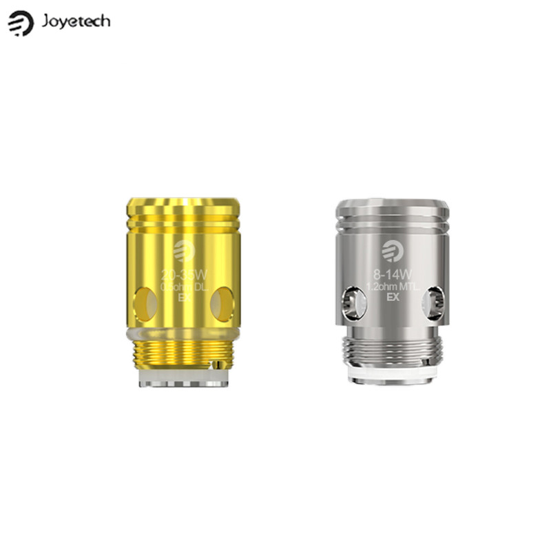 все цены на 5pcs/lot Original Joyetech EX 0.5ohm DL. Coil Head EX 1.2ohm MTL. Coil for EXCEED D19 Atomizer Exceed D22C EXCEED Edge Kit онлайн