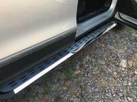 Nerf Bar Platform Iboard Side Step for VW Volkswagen Tiguan L 2017 2018 Running Board 2 PCS