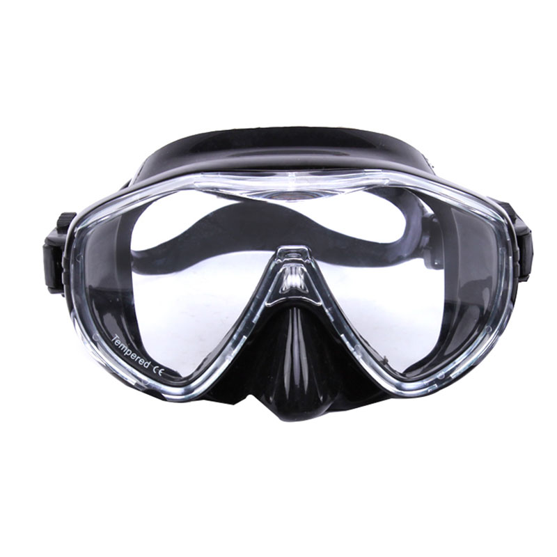 Large Frame Mask Silicone Goggles For Diving Anti-fog Waterproof Glasses MK100 Snorkel Mask Scuba Gear Goggles