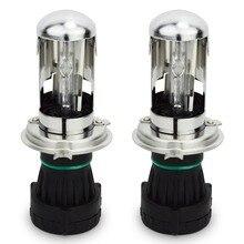 Safego DC 12 В 35 Вт H4-3 Биксеноновая H4 Hi/Lo xenon HID лампы 4300 К 5000 К 6000 К авто Замена лампы для автомобильных фар лампы