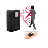 Mini A9 GSM Infrared induction Anti theft alarm Wireless PIR Alert Infrared A9 Voice Monitor 4 Bands SOS GPS tracker