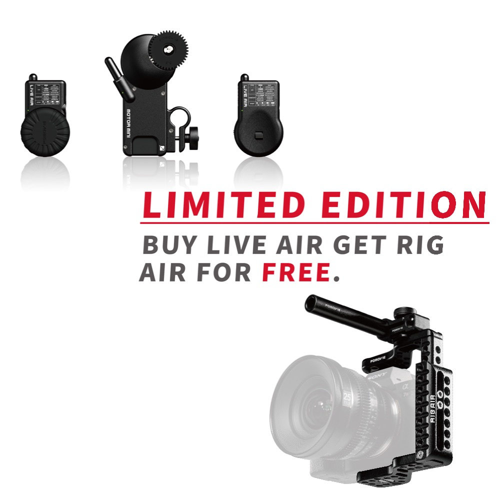 NEW PDMOVIE LIVE AIR  PDL-AF Bluetooth Wireless Follow Focus System for Gimbal or SLR Camera  Buy  LIVE AIR get RIG AIR freeNEW PDMOVIE LIVE AIR  PDL-AF Bluetooth Wireless Follow Focus System for Gimbal or SLR Camera  Buy  LIVE AIR get RIG AIR free
