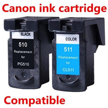 ФОТО PGI-510Black CLI-511color compatible ink cartridge for printer MP240/MP250/MP260/MP270/MP272/MP280/MP480/MP490/MP492/MX320/MX330