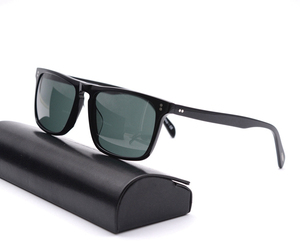 Image 3 - Square Sunglasses Women Vintage Sunglasses Men  Acetate Frame with Glass Lenses  OV5189 Bemardo Sun Glasses Retro Sunglasses