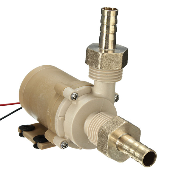 80C DC12V High Temperature Brushless Water pump 310GHP 20L//m