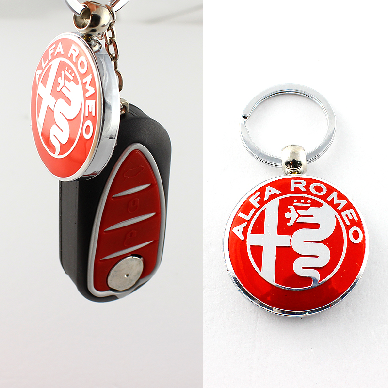 High Quality Metal Decorations For Alfa Romeo 159 3D Car