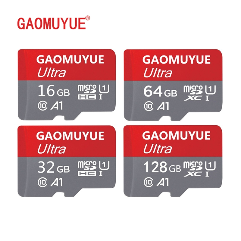 GAOMUYUE5 Free Shipping 16G 32G 64G 128G Memory Card & Microsd In Micro Sd Cards High Speed Class10 -XC Tf Cards H2testw P-4
