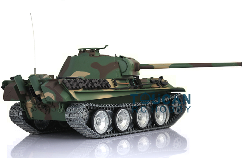 все цены на  HengLong 1/16 German Panther G RC Tank Metal Track Sprockets Airsoft Sound 3879  онлайн