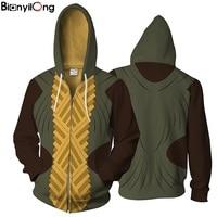 2018Men Women Hooded Sweatshirts 3D Printed Hoodies Casual Tracksuit Casual Zipper Hoodie Hooded Sweatshirt US Size
