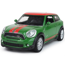 Scale 1/28 Mini Diecast Toy Car Vehicle Toy Pull Back Sound Light Open Door Color Random Gift Box