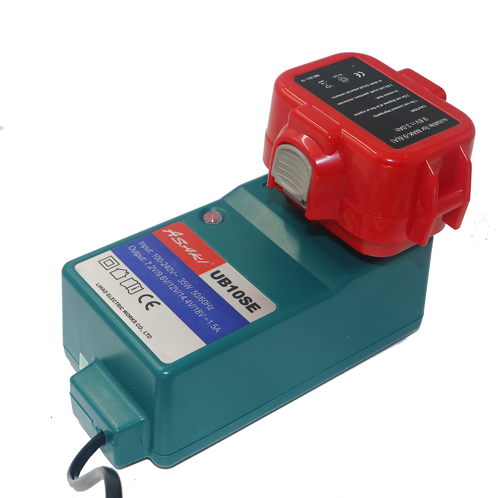 DVISI <font><b>9.6V</b></font> 2.0Ah / 3.0Ah Ni-CD Fine Power Tools <font><b>Battery</b></font> & Portable Charger for <font><b>MAKITA</b></font> <font><b>9120</b></font> 9122 9133 9134 9135 9135A 6222D 6260D image