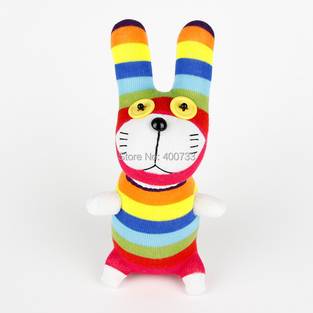 Easter gifts 100 handmade diy stuffed sock animals doll baby toys easter gifts 100 handmade diy stuffed sock animals doll baby toys rainbow bunny rabbit christmas negle Image collections