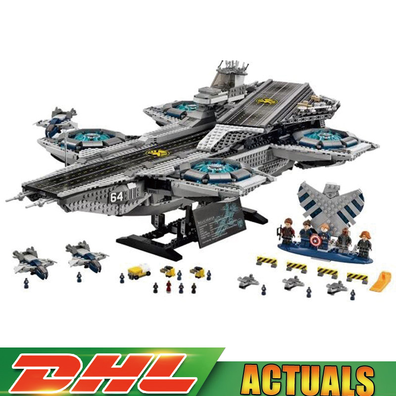 Lepin 07043 Super Heroes The Shield Helicarrier Model Building Kits Blocks Bricks Toys Compatible legoinglys 76042 Children Gift qigong legendary animal editon 2 chimaed super heroes building blocks bricks educational toys for children gift kids