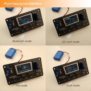 Image 5 - Lusya TPA3116 Bluetooth 50W * 2 streo เสียงเครื่องขยายเสียงที่มีหน้าจอสี Spectrumt สำหรับรถ DC12V H2 003