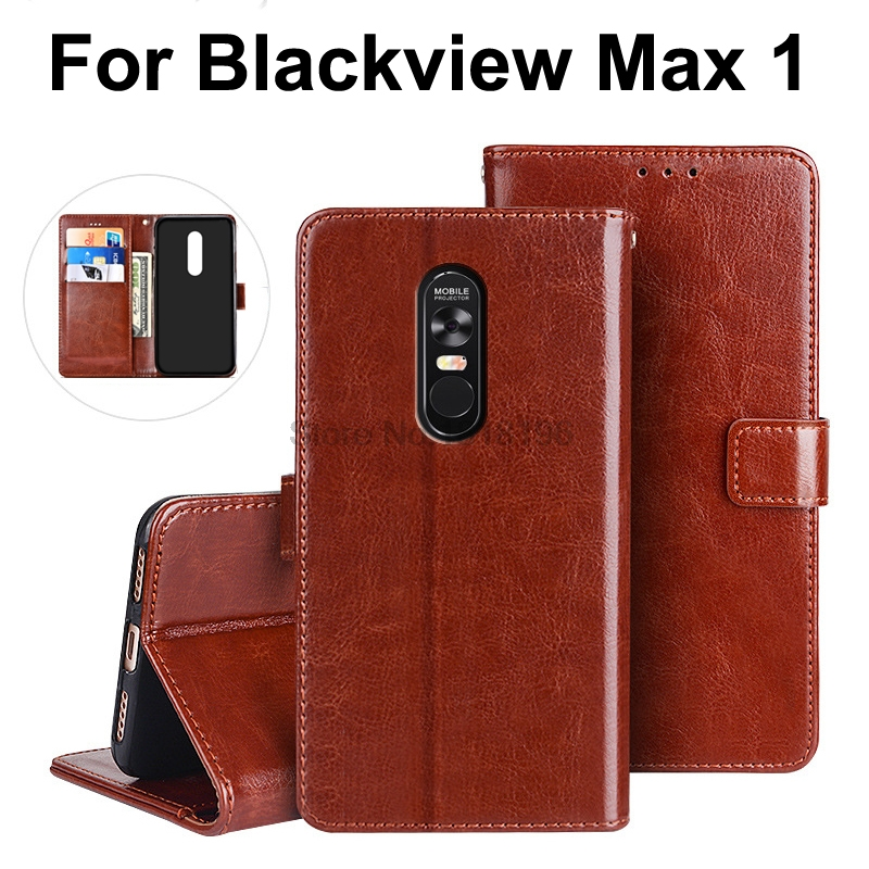 For Blackview Max 1 Case Flip Luxury PU Leather Silicone Back Cover Phone Case For Blackview Max 1 Blackview Max1 Cover Cases