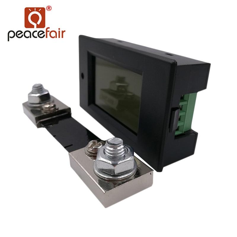 """""""Peacefair"""" skaitmeninis daugiafunkcinis voltmetras ampermetras - Matavimo prietaisai - Nuotrauka 2"""