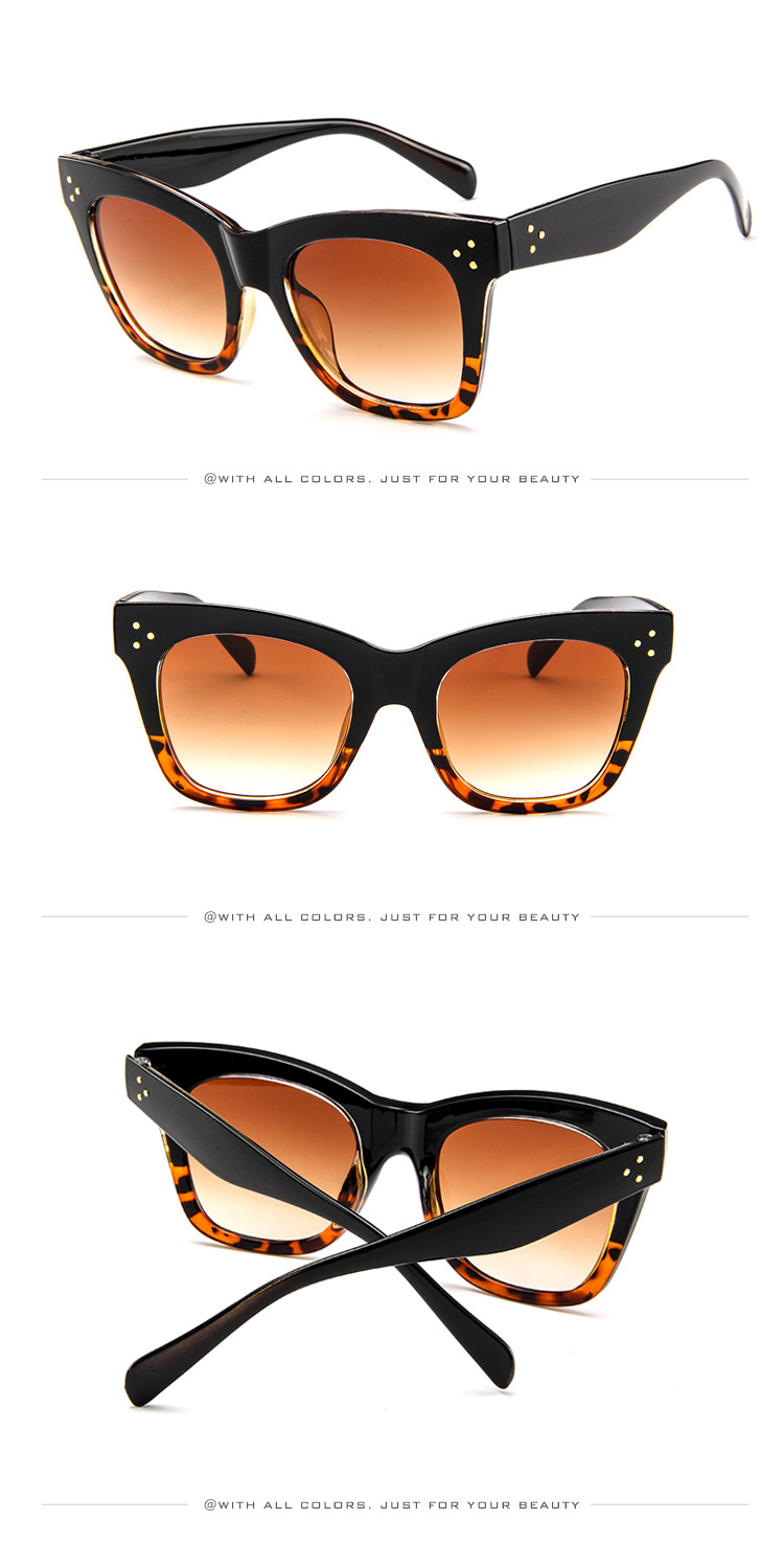 Lunettes de Soleil de Pilote /> Gradient polarisé miroir homme femme or Orange