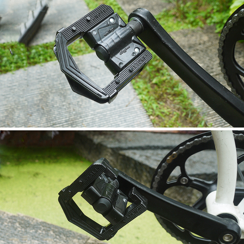 Wellgo F265 Folding Cykel Pedaler MTB Mountain Cykel Pedal Aluminium - Cykling - Foto 6