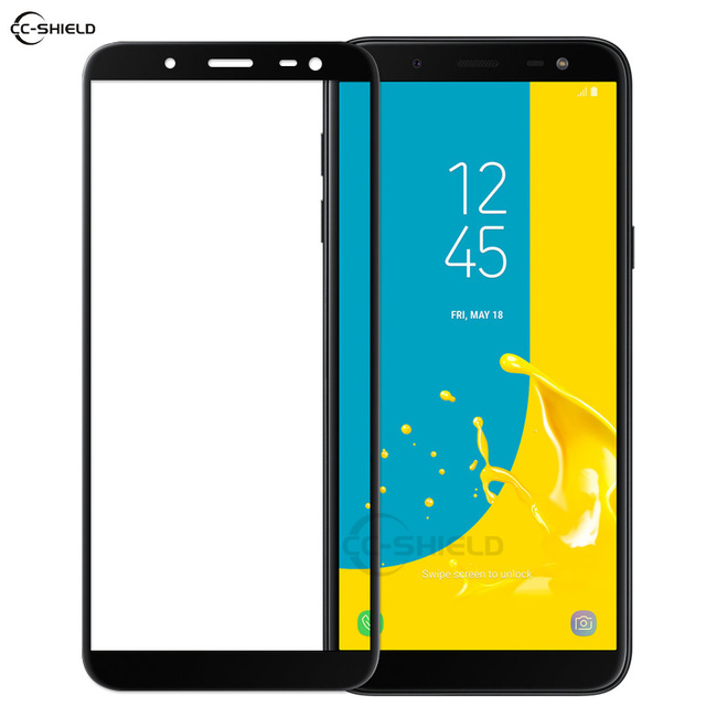 finest selection 2a1a0 4e944 Full Cover Glass for Samsung Galaxy J6 J 6 2018 J600 SM-J600F/DS J600F/DS  SM-J600FN J600FN Screen Protector Film Tempered Glass