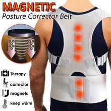 Orthopedic Corset Back Posture Corrector Men Women Magnetic Vest Shoulder