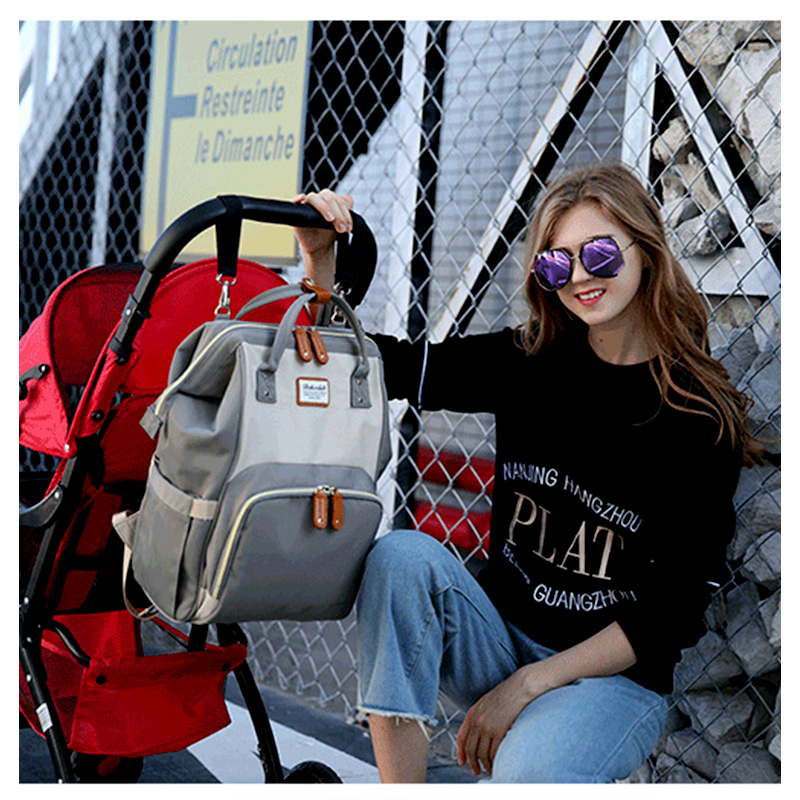 2019 New Baby Care Diaper Bag Travel Mummy Maternity Backpack For Baby Stroller Organizer Nappy Changing Bags Mother Bag  (20)