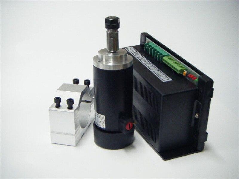 450W 0.45KW ER11 3000-12000RPM DC Brushed spindle motor&MACH3 speed controller power supply&mount bracket CNC DIY kits  цены