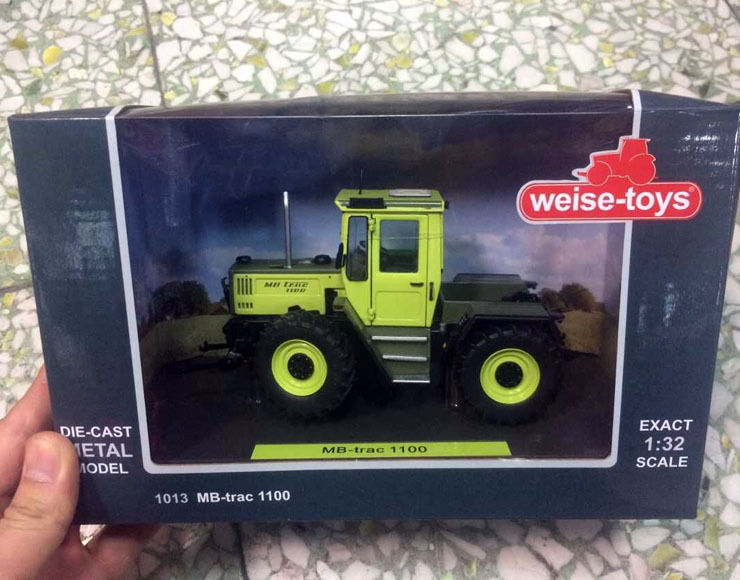 Weise-toys 1/32 Scale Die-Cast Metal Model 1013 MB-Trac 1100 dickie toys ускоритель автобот с машинкой die cast