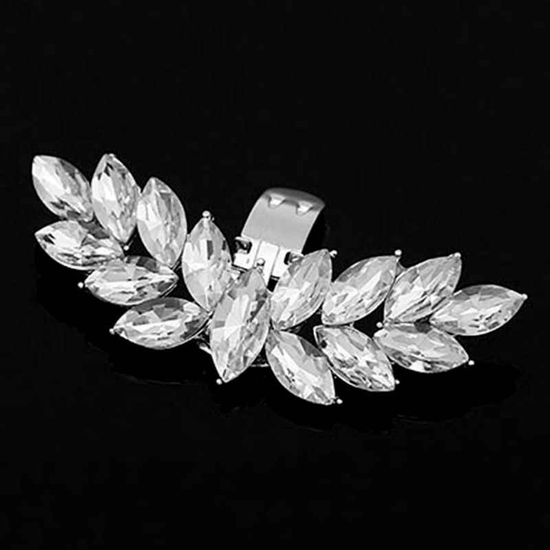 Shoe Clip Rhinestone Wings DIY Charms Women Wedding Fashion Women Shoe Buckle Accessories Heels Decoration