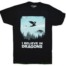 267908b7 Mens 2018 Tee Shirts Printing Dreamworks How To Train Your Dragon Want To  Believe