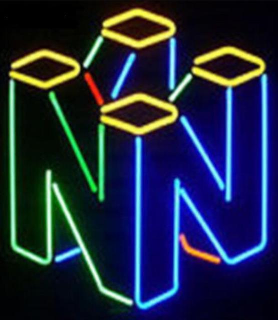 Custom TRON Nintendo Glass Neon Light Sign Beer Bar 2