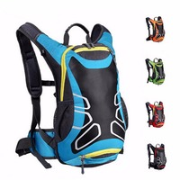 15L Outdoor Sport Backpack Road Mountain Bike Cycling Bag Multi Pocket For Mountaineering Hiking Large Capacity