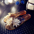2017 New melissa Women's Summer Slippers Open Toe Sandals New Women's Shoes Flip Flops La Jalea Sandals