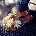2017 Nueva melissa Zapatillas de Verano Sandalias de Punta Abierta de Las Mujeres Nuevos Zapatos de Las Mujeres Flip Flop Sandalias de La Jalea