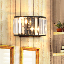 new design luxury wall lamp modern sconce AC110v 220v gold applique murale luminaire home lighting diameter 24cm