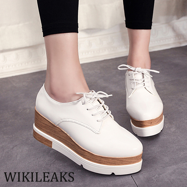 569161a3f 2017 Luxury Brand Ladies Flat Women Casual Platform Shoes Jordan Retro Shoe  Thick Sole Sapato Feminino Designer PU Leather WC032