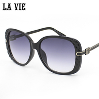 LA VIE Fashion Oversized Butterfly Sunglasses Women Brand Designer Multicolor Sun Glasses For Women UV400 Oculos