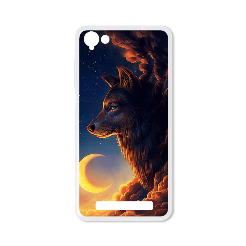 quality design f738d bbe73 TAOYUNXI Soft TPU Case For Micromax Canvas Juice A1 Q4251 Cases For  Micromax Vdeo 4 Q4251 5.0 inch DIY Painted Protective Covers