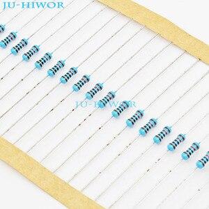 (1000 шт./лот) 10 12 15 18 20 Ом 1/4 Вт 0,25 Вт 1% металлический пленочный резистор