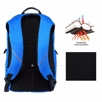 Outdoor Multi-function Solar Panel Breathable Backpack  2