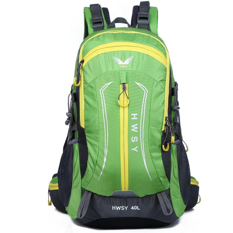 ФОТО New Outdoor climbing package 40L travel bag waterproof hiking mountaineering Double-shoulder backpack camping equipment