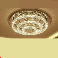 Kabson crystal lamp room, round atmosphere, warm bedroom, light modern led dining room lamp, high grade household.