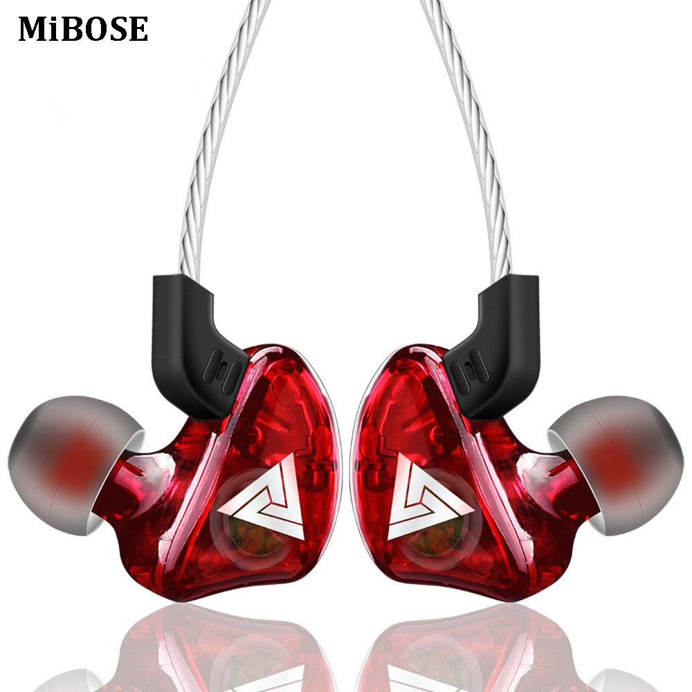 MiBOSE Earphone Sport Earbuds Stereo For Apple Xiaomi Samsung Music Cell Phone Running Headset dj With HD Mic fone de ouvido