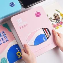 36 farben Solide Aquarell Malen Set Tragbare Malerei Pigment Full Kit Eisen Box Geschenk für Anfänger Student Künstler Kunst Liefert