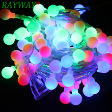 Outdoor Festive Lights Outdoor festive lights promotion shop for promotional outdoor rayway 5m 50 led rgb garland string fairy ball light for wedding christmas holiday decoration lamp festival outdoor lighting workwithnaturefo