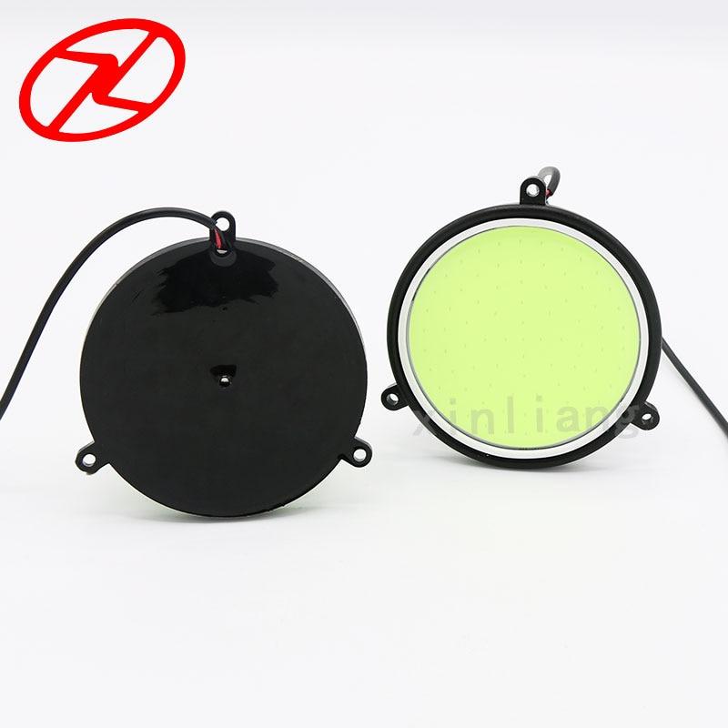 2X Υψηλή ισχύς COB Daytime Running Light 12V - Φώτα αυτοκινήτων - Φωτογραφία 3