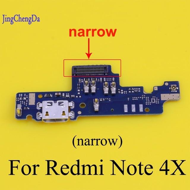 JCD для Xiaomi USB док-станция разъем для зарядки порт гибкое Кабельное зарядное usb-устройство Разъем Ремонт Запчасти для Redmi Note 4x Note4x
