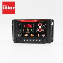 Контроллеры заряда солнечной панели 30 20 10 A регулятор 12 24 3,7 12,8 11,1 14,8 22,2 25,6 в LI ion ni mh LiFePO4 батарея