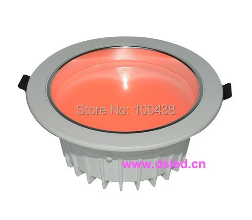 Good quality 18W RGB LED spotlight,RGB LED recessed light,High power EDISON,RGB 3in1LED,DS-CSL-59-18W-RGB,24VDC,DMX compitable